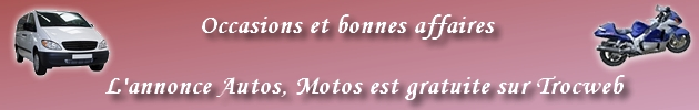 voitures, vendres, autos, motos, bonnes affaires, ench�res, occasion